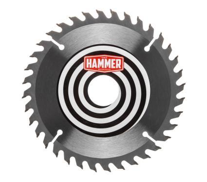 Диск пильный твердосплавный HAMMER Ф160х20мм 36зуб.