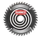 Диск пильный твердосплавный HAMMER 185х20/16мм 40 зуб.