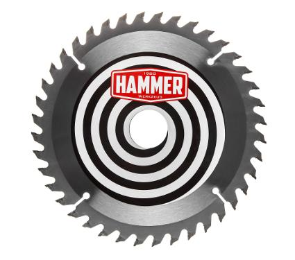 Диск пильный твердосплавный HAMMER Ф185х20мм 40зуб.