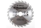 Диск пильный твердосплавный HAMMER 190х30/16мм 24 зуб.