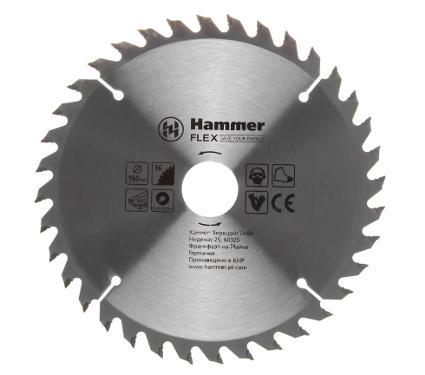 Диск пильный твердосплавный HAMMER Ф190х30мм 36зуб.