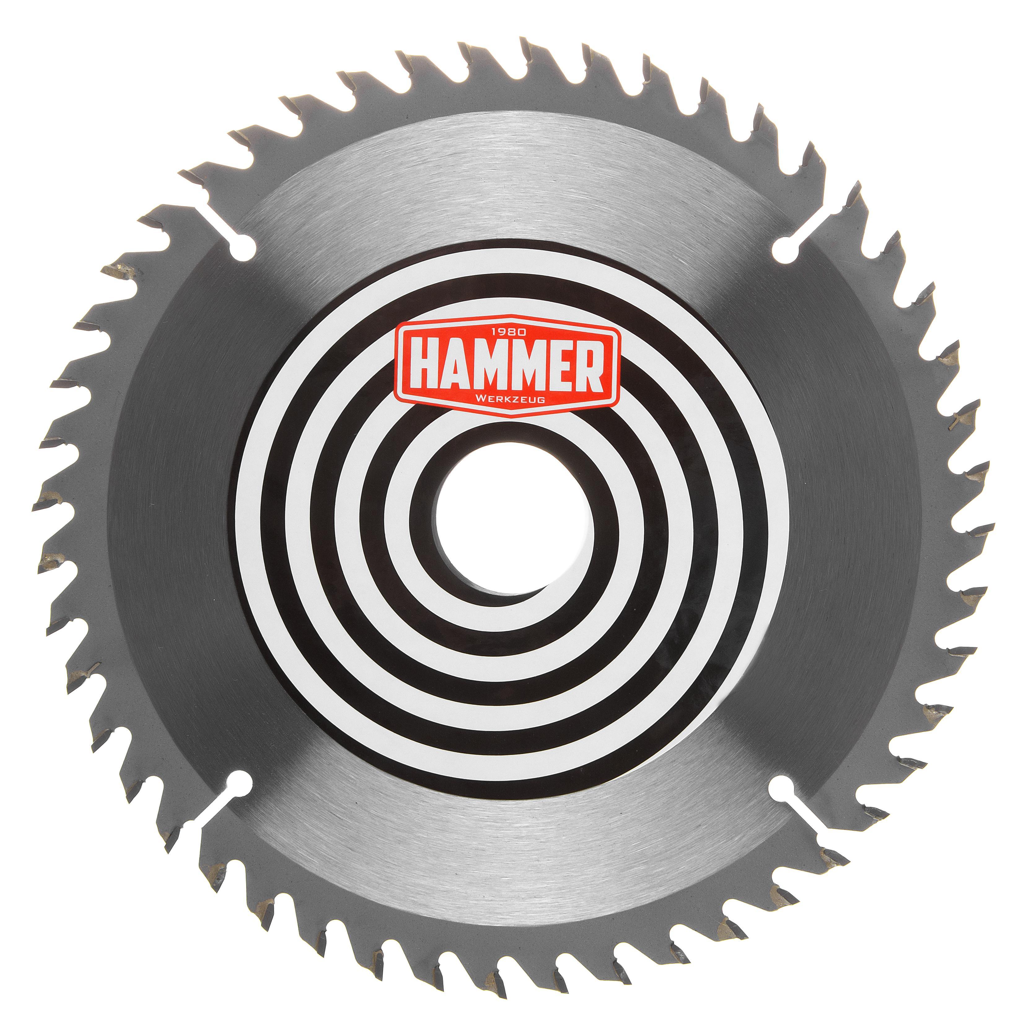 Диск пильный твердосплавный Hammer 190х30/20/16мм 48 зуб.