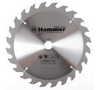 Диск пильный твердосплавный HAMMER 210х20/16мм 24 зуб.