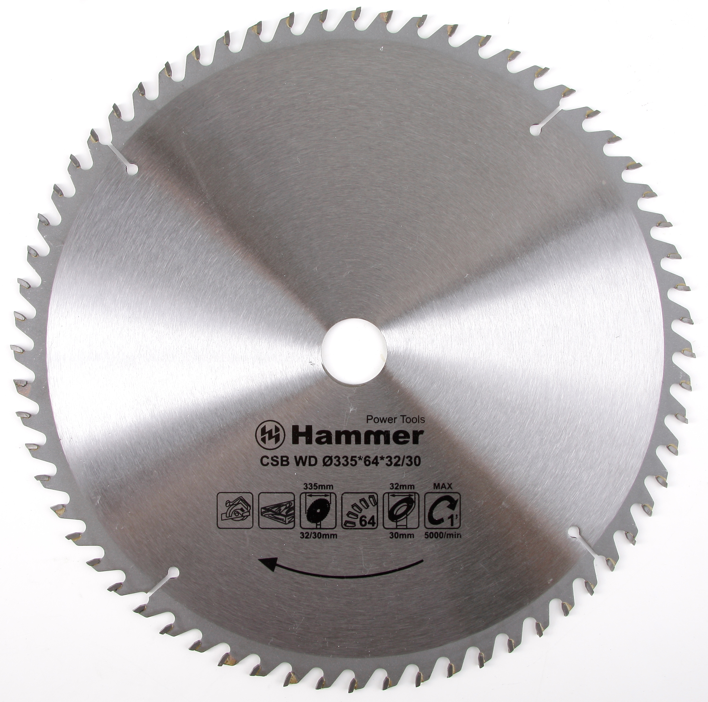 Диск пильный твердосплавный Hammer 335х32/30мм 64 зуб. чиполлино заколдованный мальчик сборник мультфильмов 3 dvd полная реставрация звука и изображения