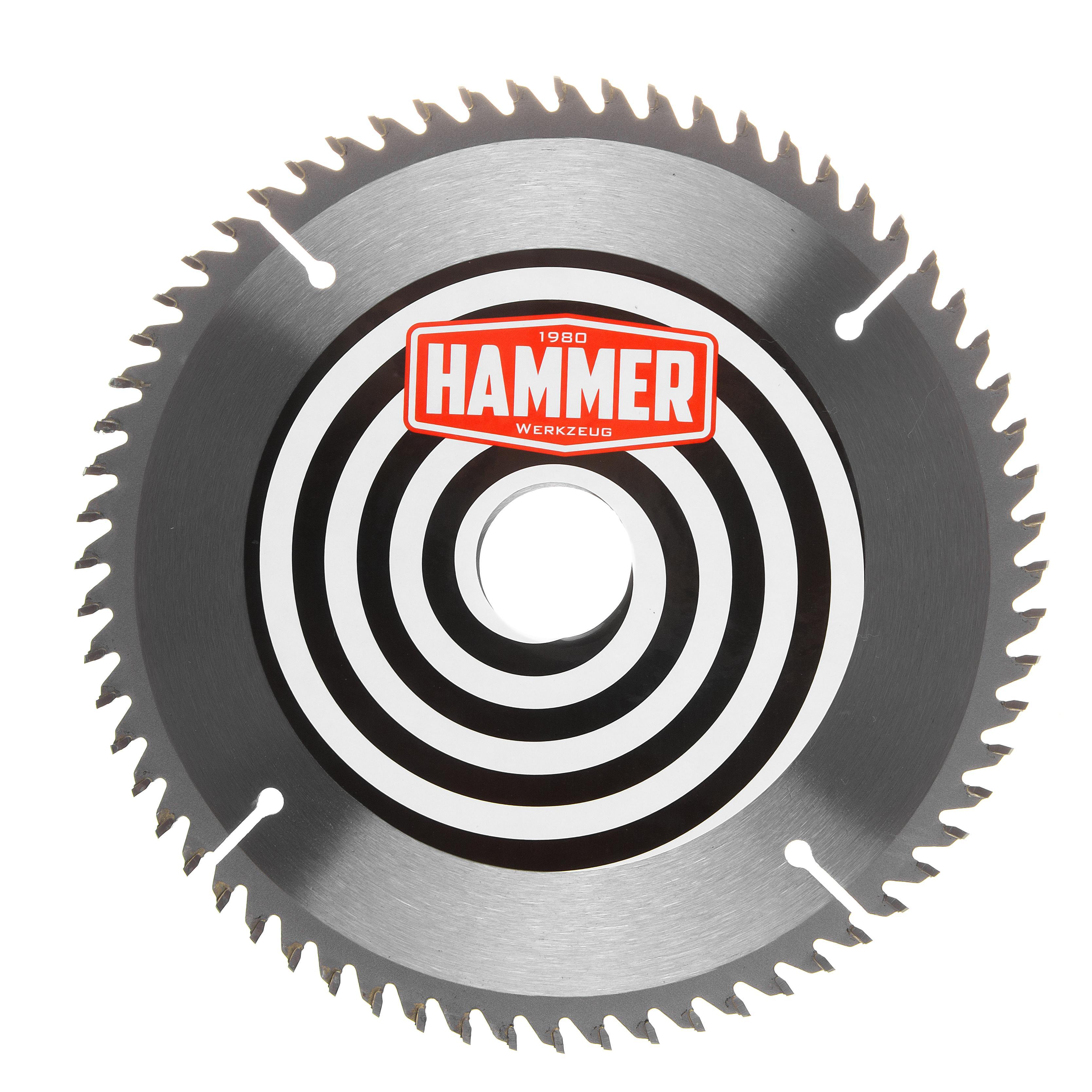Диск пильный твердосплавный Hammer 190х30/20мм 64 зуб. диск пильный твердосплавный hammer 335х32 30мм 64 зуб