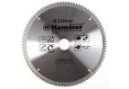 Диск пильный твердосплавный HAMMER 235х30мм 100 зуб.