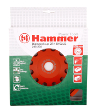 Чашка шлифовальная HAMMER CUP 2R 180*22мм с мятой упаковкой