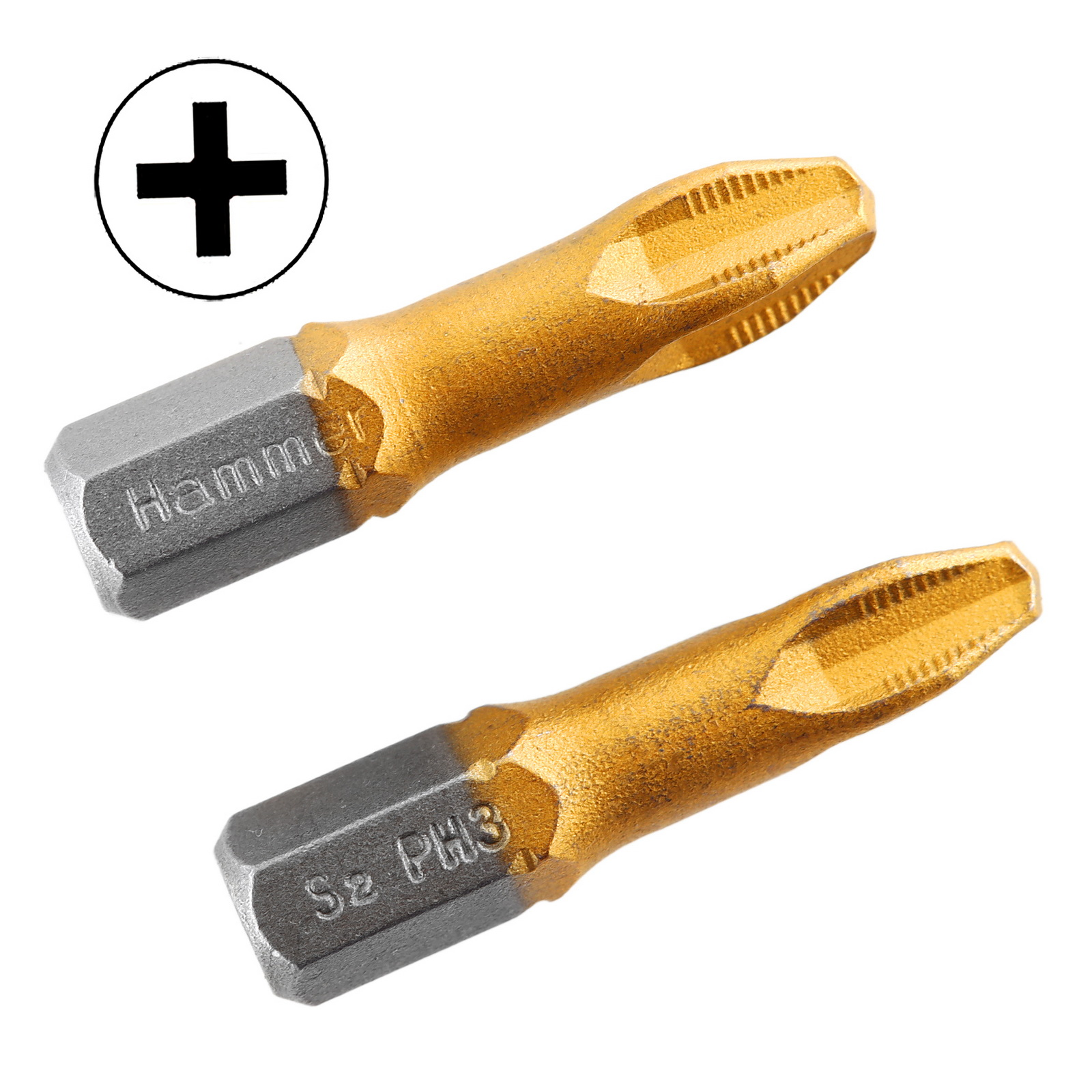 Бита Hammer Pb ph-3 25мм (2шт.) бита hammer pb pz 2 50мм 2шт