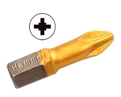 Бита Hammer Pb pz-3 25мм (2шт.) бита hammer pb pz 2 50мм 2шт