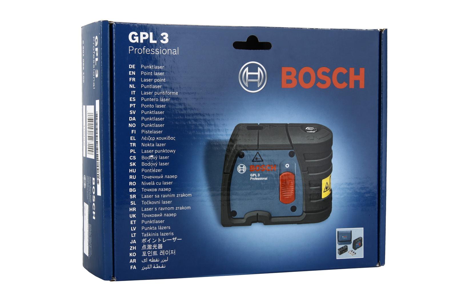 Уровень Bosch Gpl 3 professional (0.601.066.100)