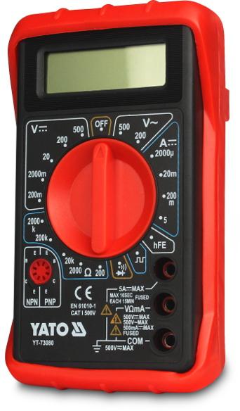 Мультиметр Yato Yt-73080 датчик скорости для велосипеда brand new 2015 bogeer yt 813 yt 813