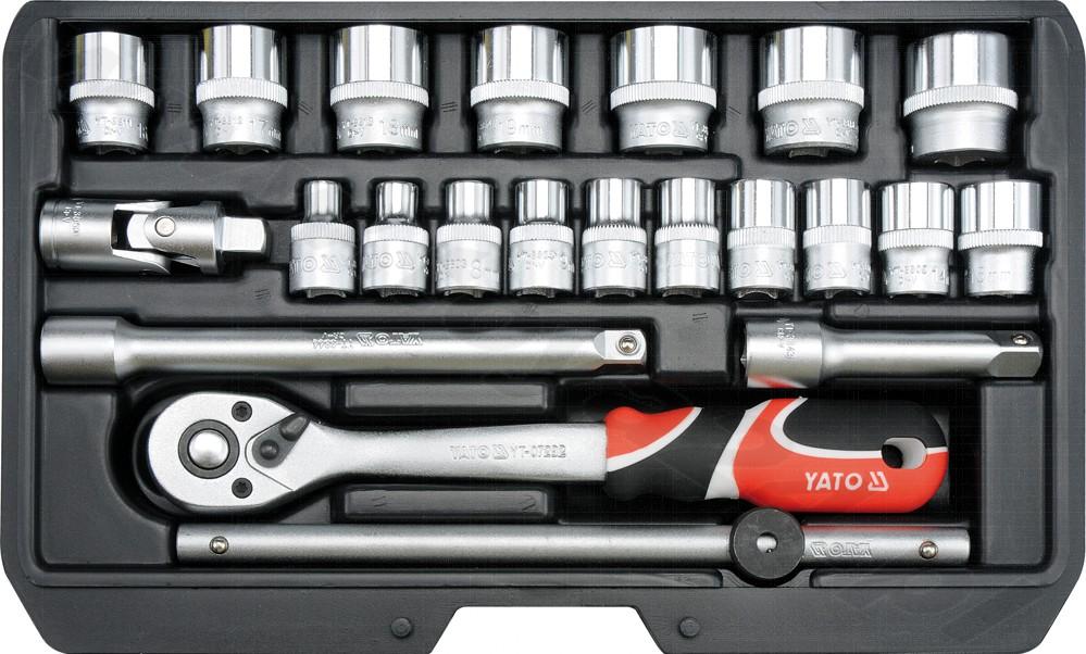 Набор головок Yato Yt-38561 набор инструментов yato yt 39009