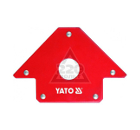 Угольник магнитный YATO YT-0864