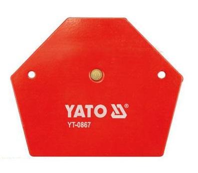 Угольник магнитный Yato Yt-0867 наколенник магнитный здоровые суставы