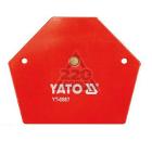 Угольник магнитный YATO YT-0867