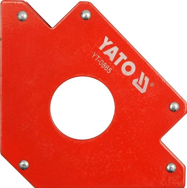 все цены на Угольник магнитный Yato Yt-0865 онлайн