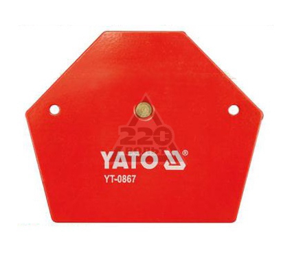 Угольник магнитный YATO YT-0866