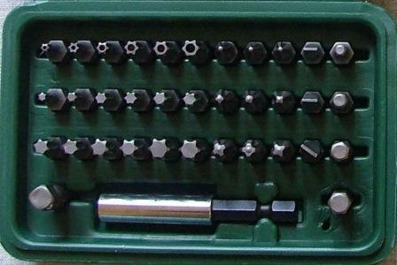 Набор бит Skrab 41607 набор бит skrab 41601