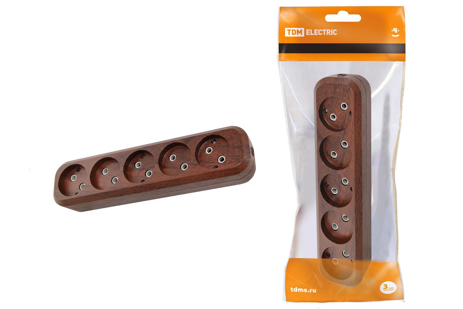 Колодка Tdm Sq1806-0067 розеточная колодка 3 гнезда бук tdm sq1806 0061