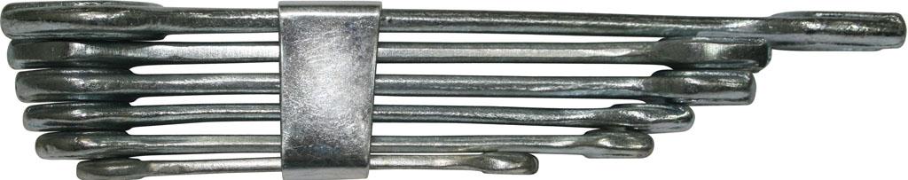 Набор ключей Biber 90623 (6 - 22 мм) набор торцевых головок jonnesway 3 8dr 6 22 мм и комбинированных ключей 7 17 мм 36 предметов