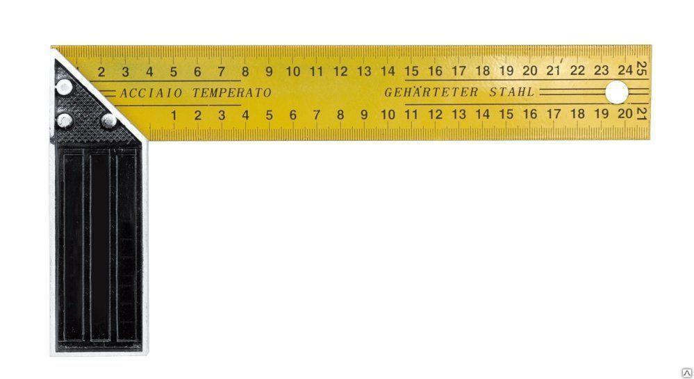 Угольник Biber 40536 измерительный угольник truper e 16x24 14384
