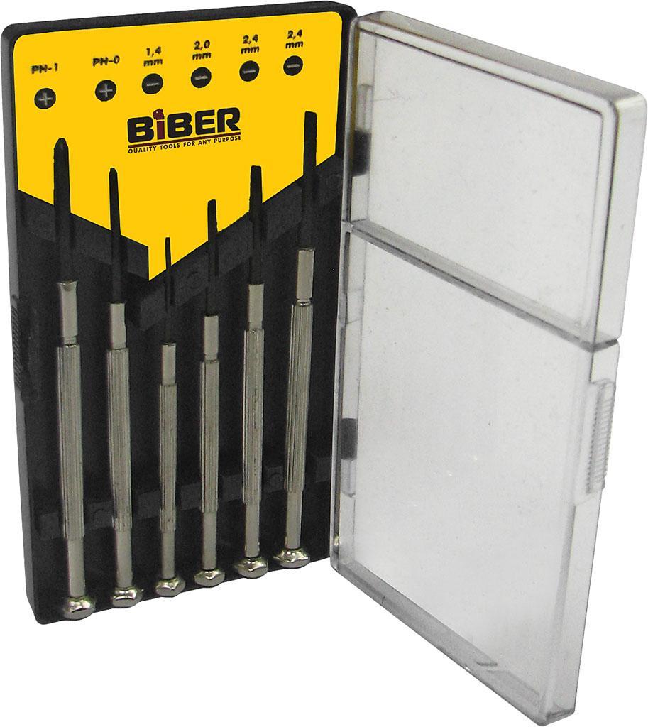 Набор отверток Biber 85565 набор отверток ultra grip для точных работ кобальт 646 638