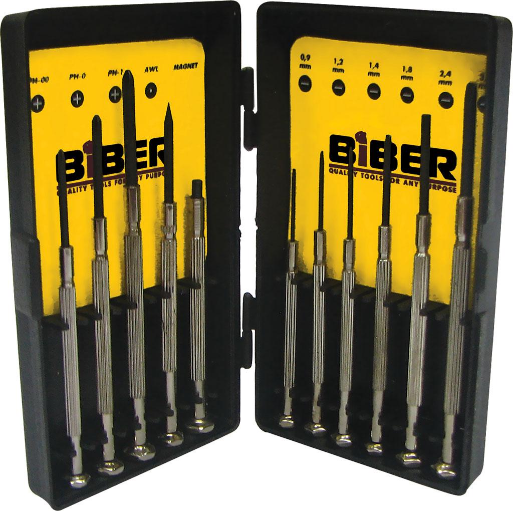 Набор отверток Biber 85566 набор отверток ultra grip для точных работ кобальт 646 638