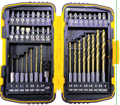 Набор бит и сверл Biber 84945 набор бит 40 предметов станкоимпорт cs bt40mm