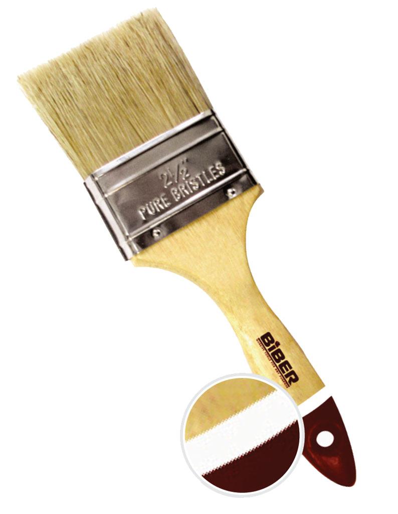 Кисть флейцевая Biber 31153 кисть флейцевая kraftool 1 01017 50