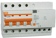 Диф. автомат Tdm Sq0204-0028