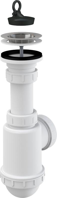Сифон Alca plast A441pr.50/40 механизм впускной alca plast a16 3 8