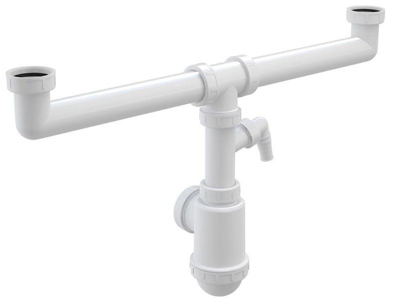Сифон Alca plast A448ppr.50/40 механизм впускной alca plast a16 3 8