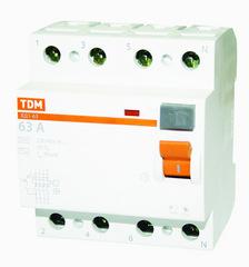 УЗО Tdm Sq0203-0041 узо 2p 25а 30мa тип aс 6ка dekraft узо 03
