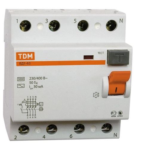 УЗО Tdm Sq0203-0044 цена