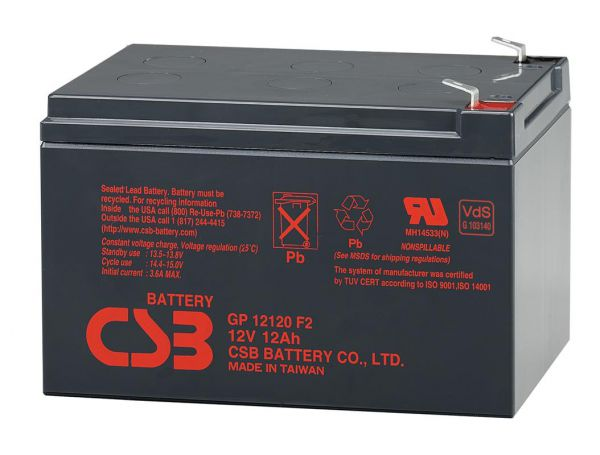 Аккумулятор для ИБП Csb Bacsb12120
