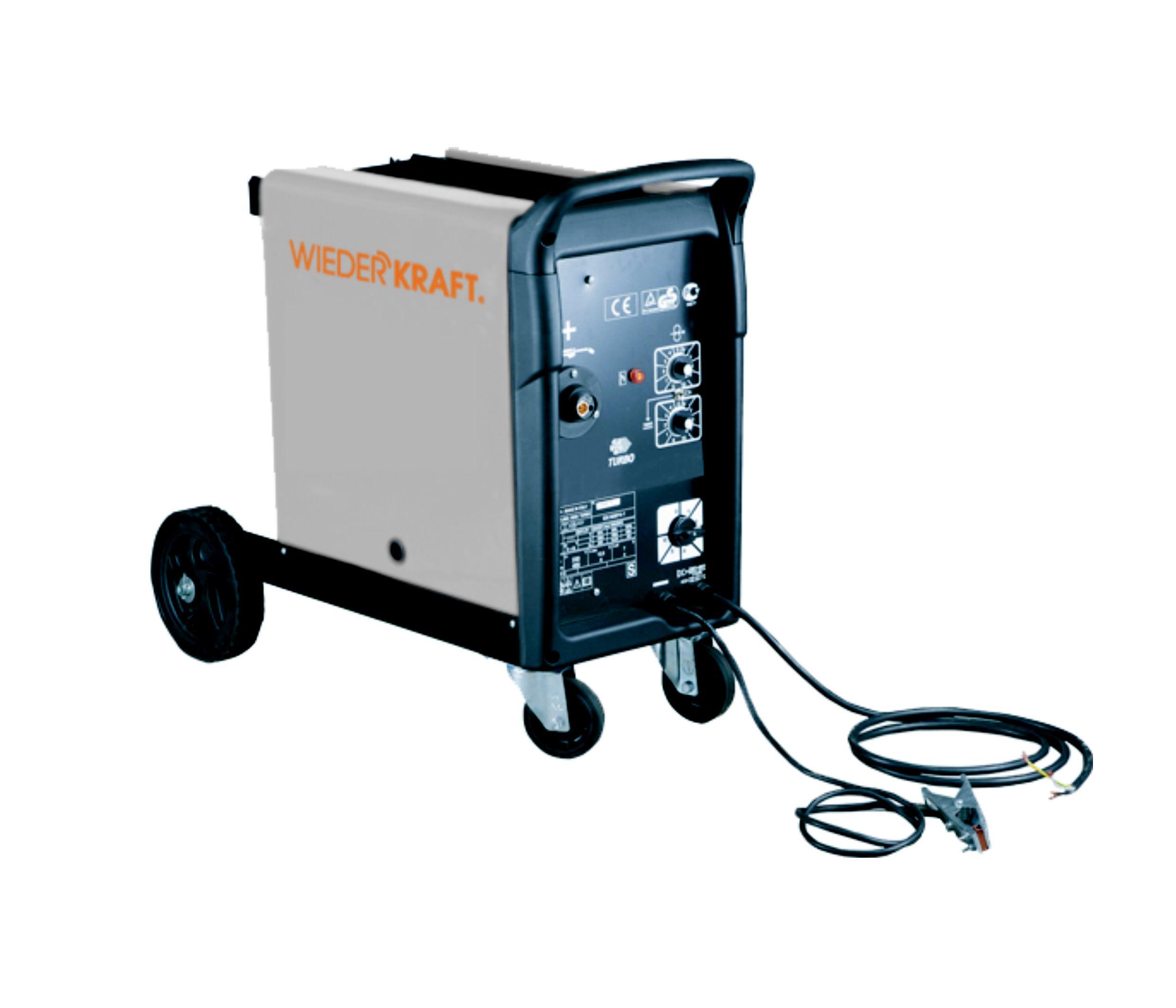 Купить со скидкой Сварочный полуавтомат Wiederkraft Wdk-620038r