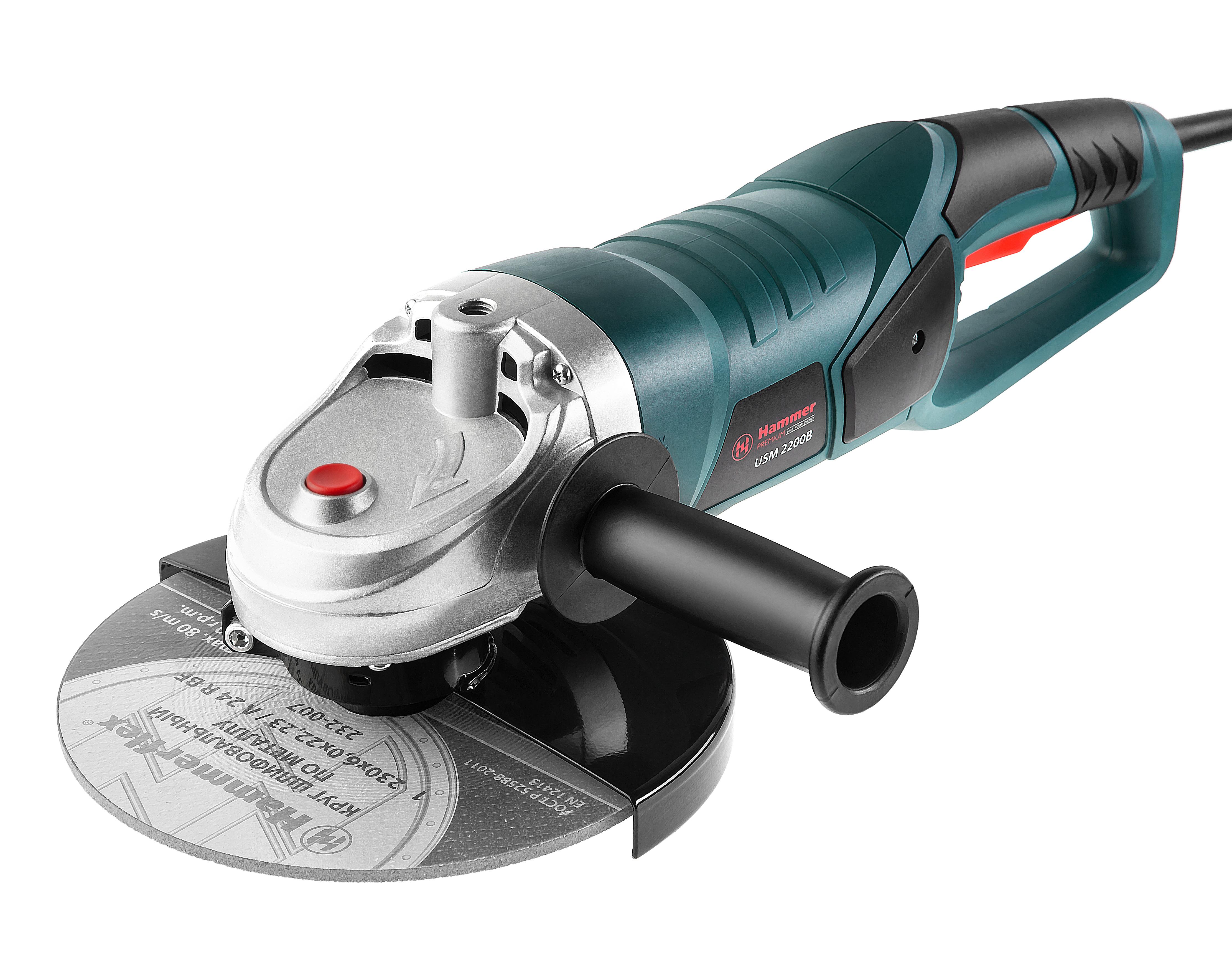 УШМ (болгарка) Hammer Usm2200b premium профессиональный штроборез hammer str115 premium