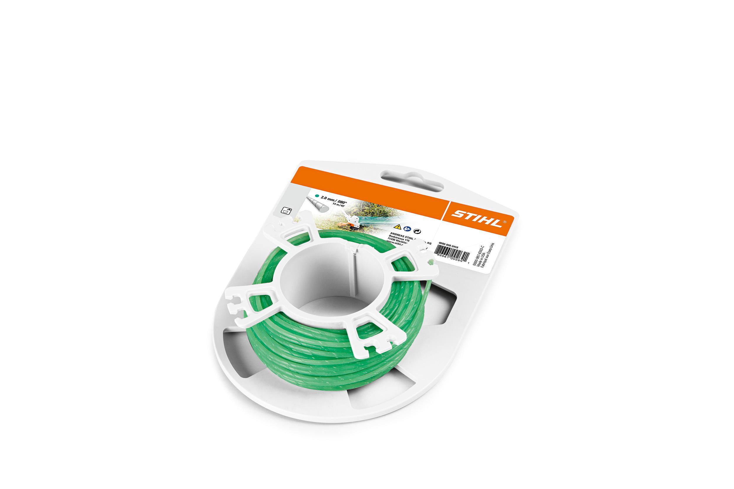 Купить Леска для триммеров Stihl 2.0мм*15, 3м круг