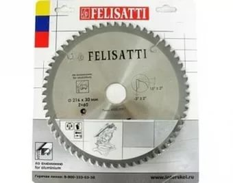 цена на Диск пильный твердосплавный Felisatti 305х3,0х30-72Т