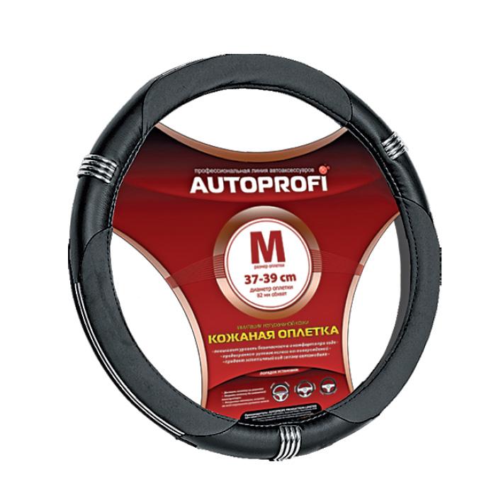 Оплетка Autoprofi Ap-150 bk/bk (m) оплетка autoprofi ap 300 bk l