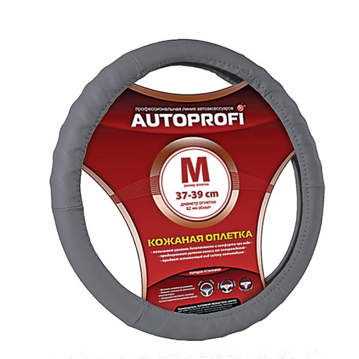 Оплетка Autoprofi Ap-300 d.gy (m) оплетки на руль autoprofi оплётка для перетяжки руля sam 300 croco be m