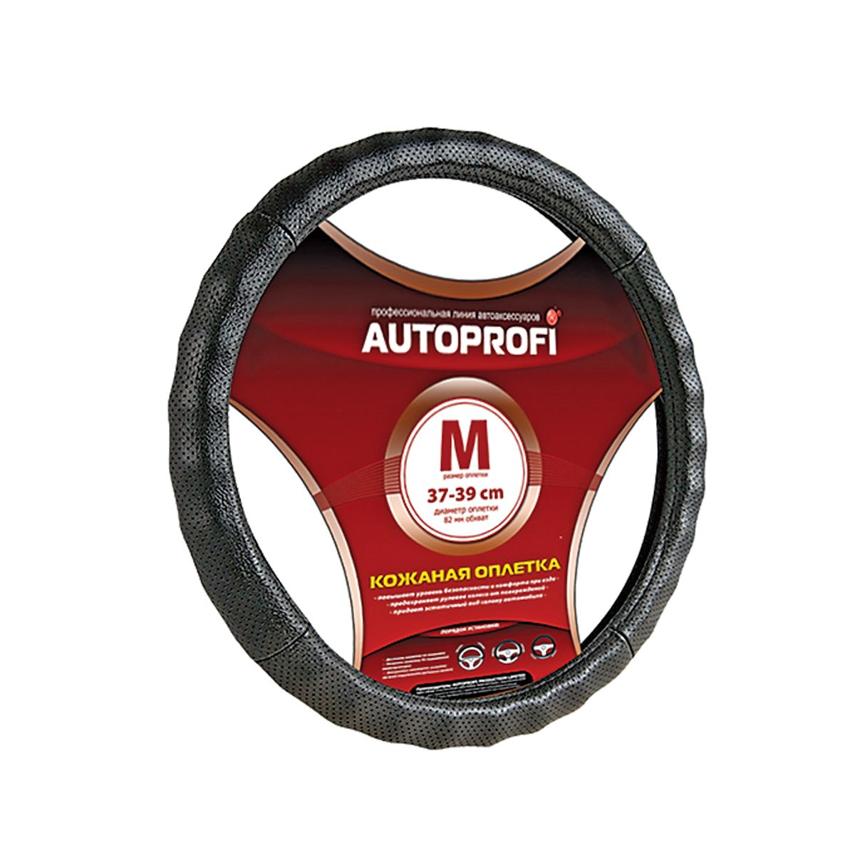 Оплетка Autoprofi Ap-396 bk (m) автохимия autoprofi антидождь 150503