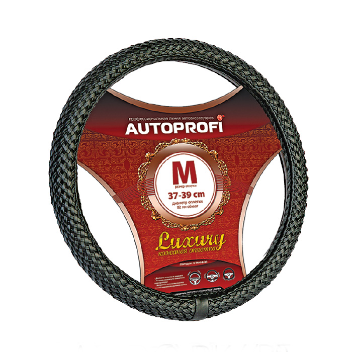 Оплетка Autoprofi Ap-800 bk (m) оплетка autoprofi ap 810 bk bk gy m