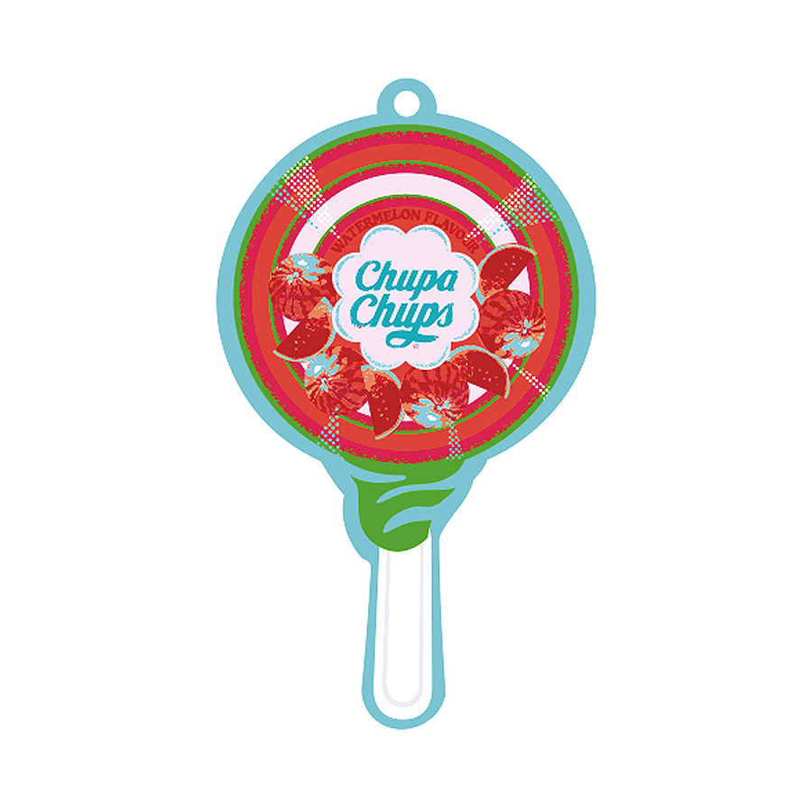 Ароматизатор Chupa chups Chp701 ароматизатор воздуха chupa chups кола подвесной двойная пропитка