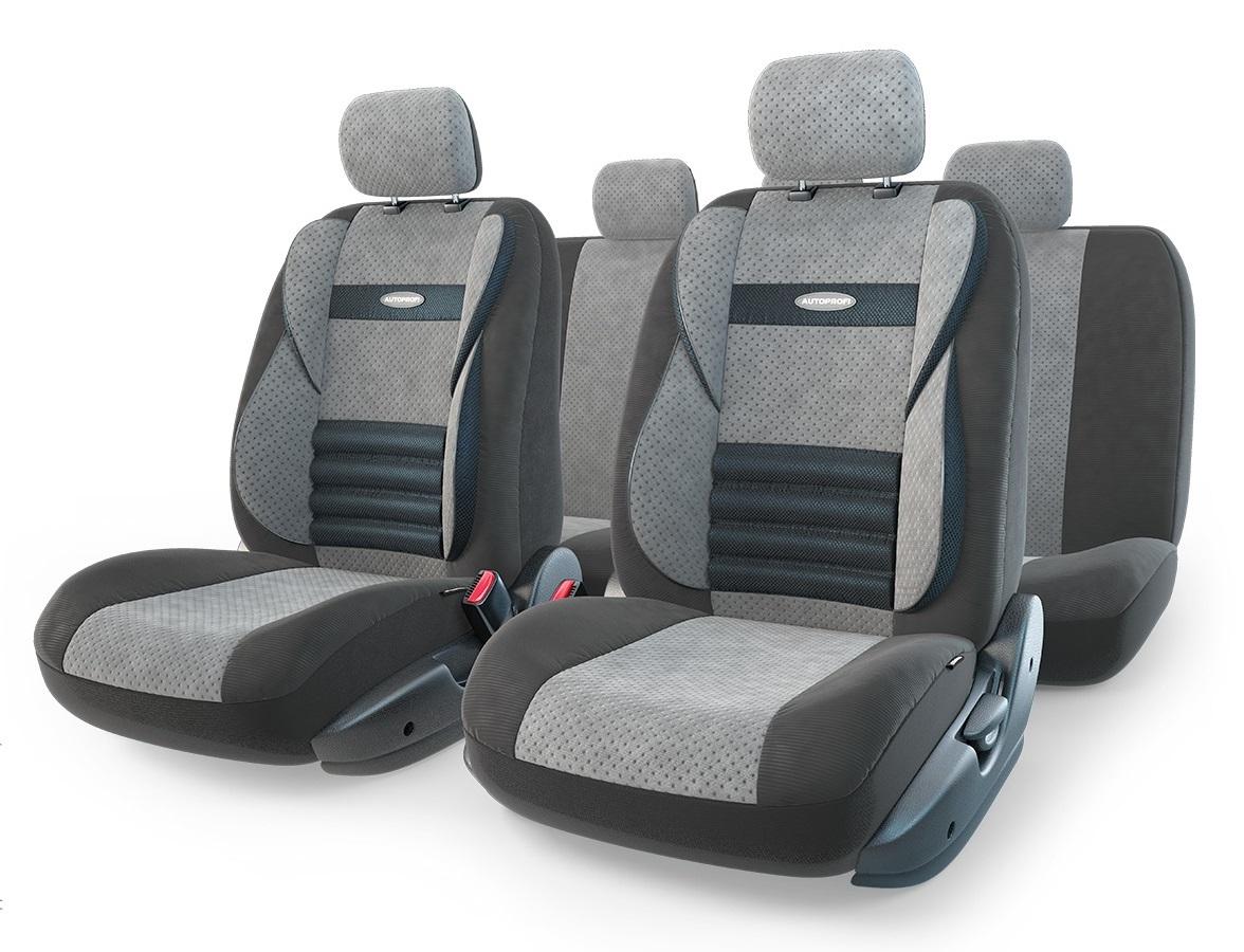 Чехол на сиденье Autoprofi Cmb-1105 bk/d.gy (М) чехол на сиденье autoprofi eco 1105 bk bl м