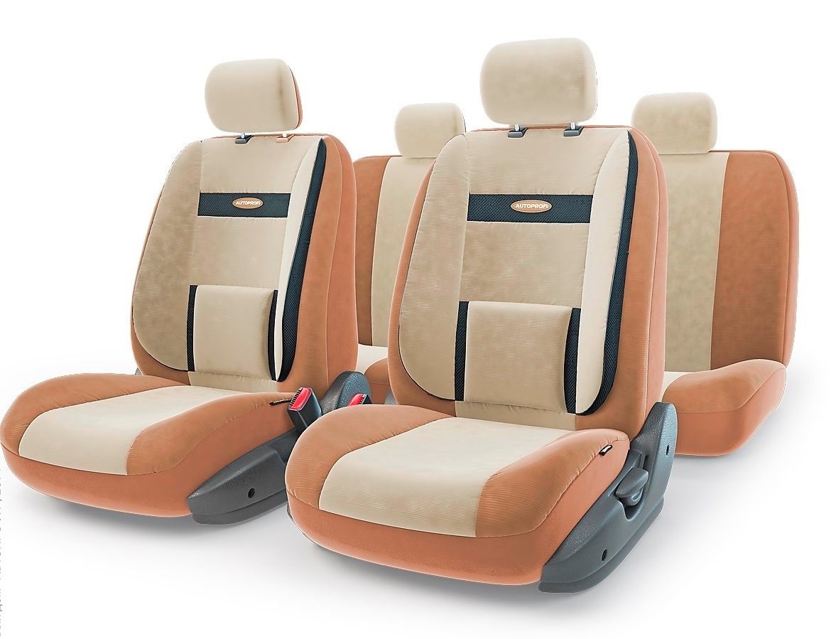 Чехол на сиденье Autoprofi Com-1105 d.be/l.be (М) чехол на сиденье autoprofi mtx 1105 bk d gy m