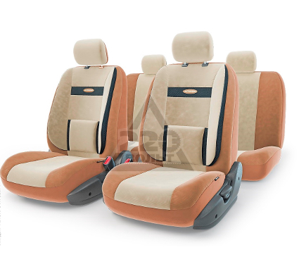 Чехол на сиденье AUTOPROFI COM-1105 D.BE/L.BE (М)