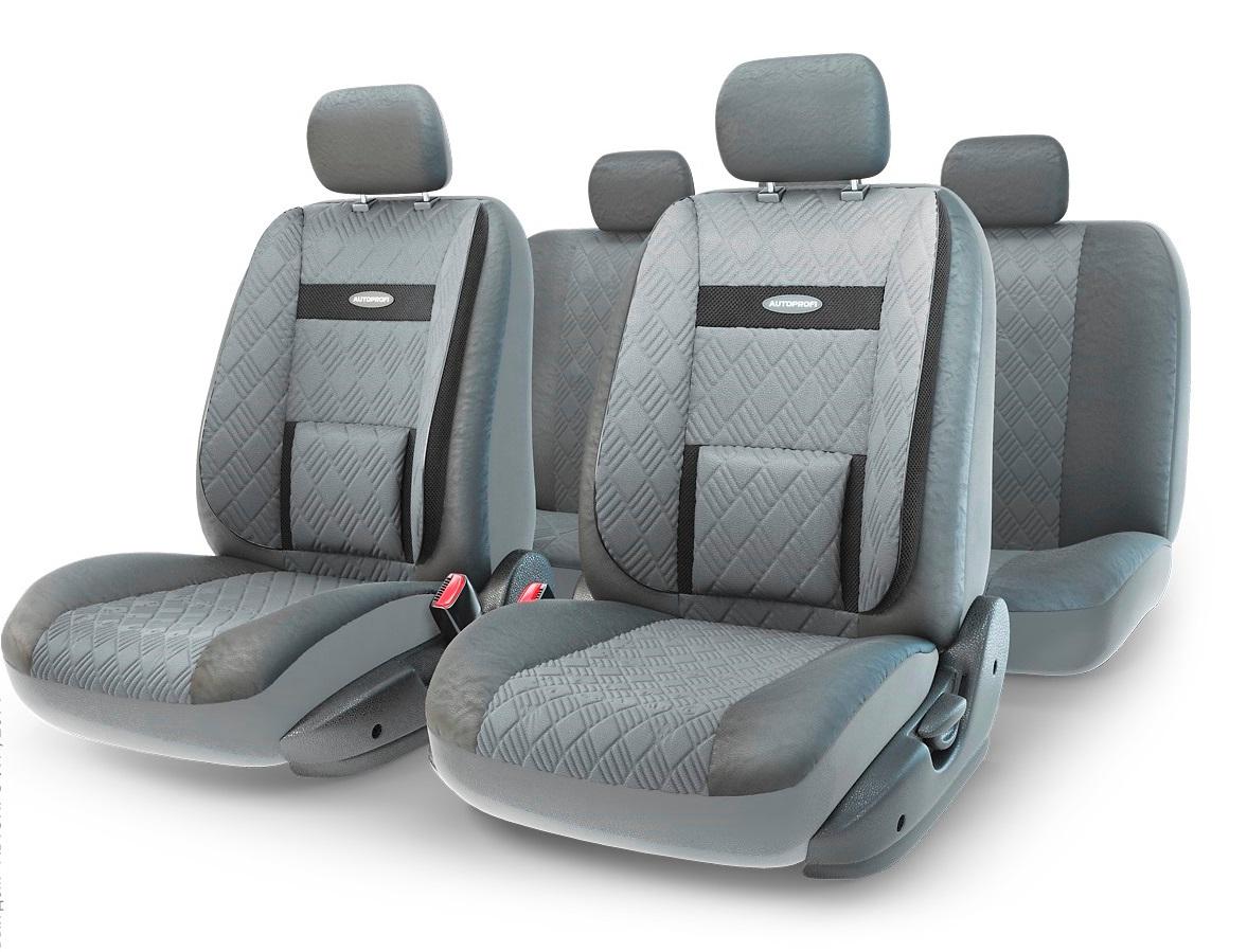 Чехол на сиденье Autoprofi Com-1105gp d.gy/d.gy (М) чехол на сиденье autoprofi com 1105 cyclone м