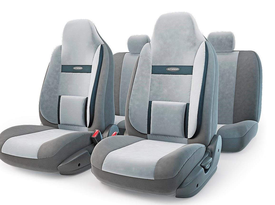 Чехол на сиденье Autoprofi Com-1105h d.gy/l.gy чехол на сиденье autoprofi com 1105 cyclone м