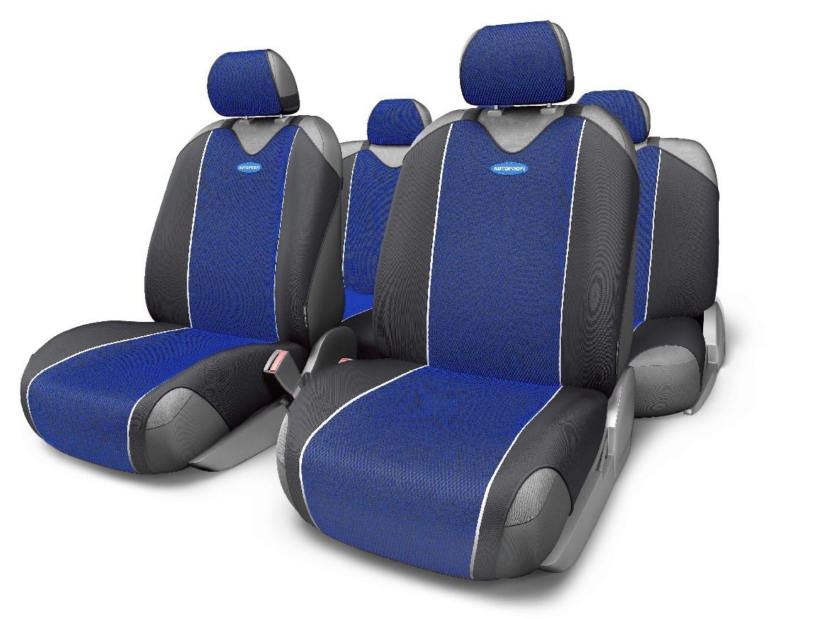 Чехол на сиденье Autoprofi Crb-802 bl чехол на сиденье autoprofi crb 902p bk bl